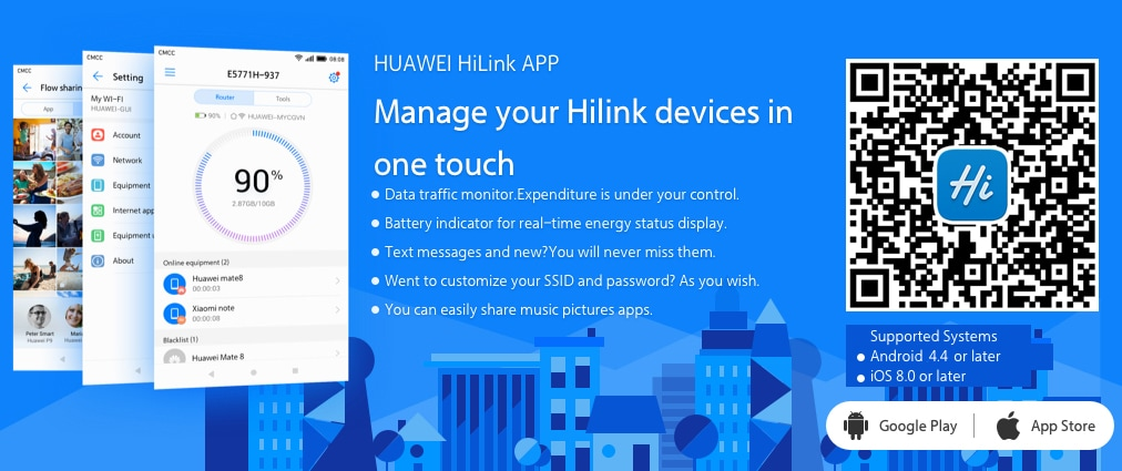 Huawei HiLink app - Huawei Device , Co Ltd